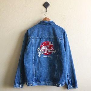 '90s / Planet Hollywood Denim Jacket